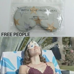 Free People leather starry eyes cooling mask